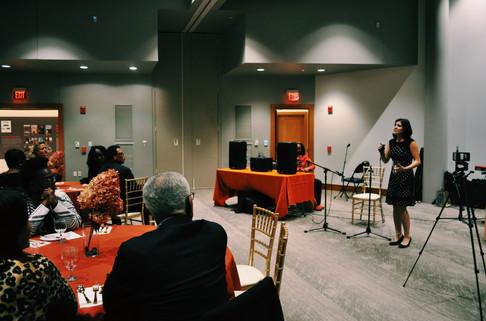 Organizer Speaking
