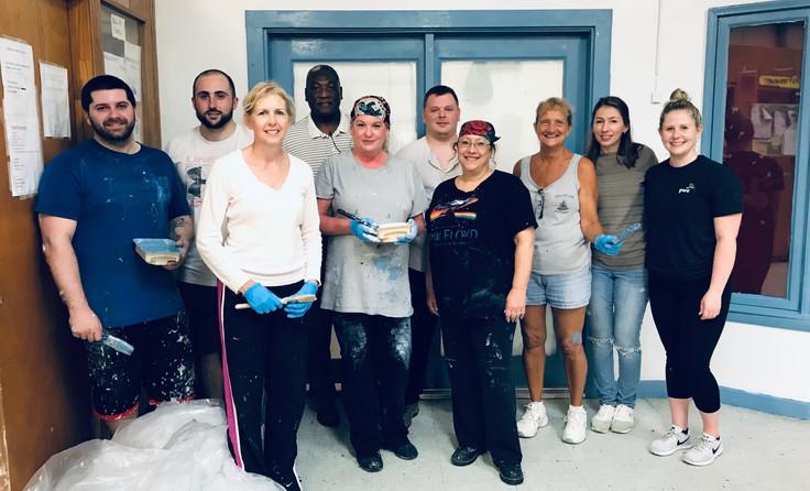 Painting Volunteers from Burzeski & Co__