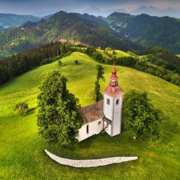 Škofja Loka - by Drone