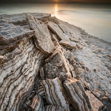 ים המלח , בחוף הצפוני