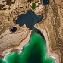 בולעני ים המלח צולם מרחפן