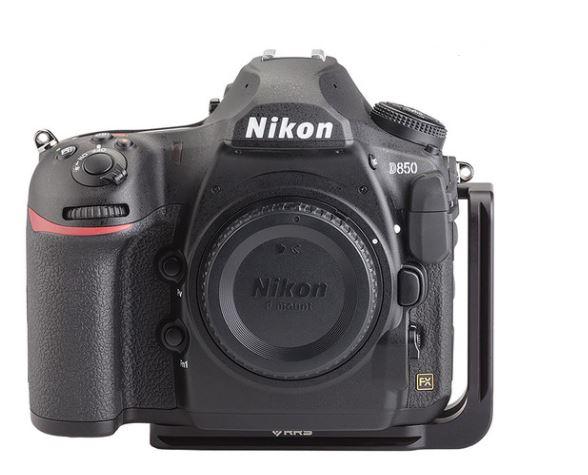 צילום מצלמה עם פלטה מסוג L BRACKET -RRS D850