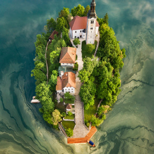 Bled Lake - By Drone