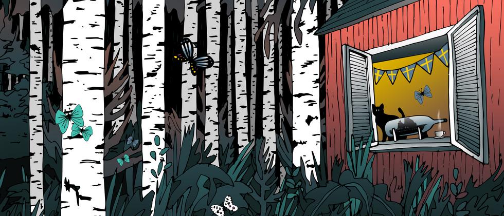 Sala del bosque