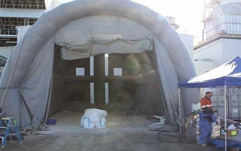 Siemens EZY Blast Shelter
