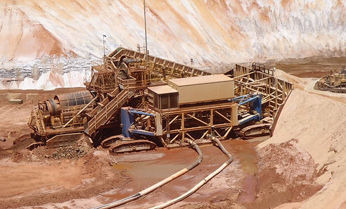 Mining Unit Plant MUP  On location Block