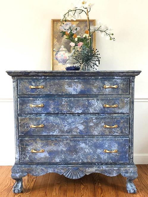 Tidal Wave Blue Dresser