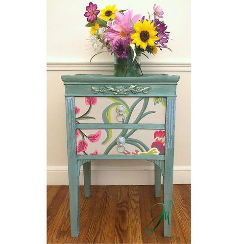Springtime End Table