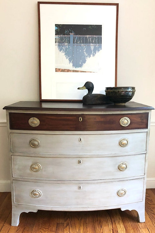 Two-Tone Neutral Vibes Dresser Chest