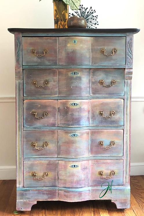Tall Bohemian Dresser