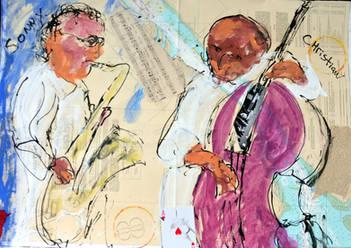 Sonny Rollins and Christian McBride.jpg