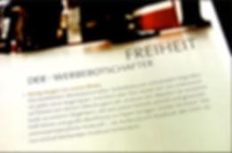 Freier Top Texter Konzept Text Design Pelikan Werbeartikel-Katalog