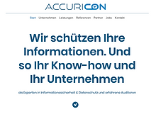 ACCURICON Website
