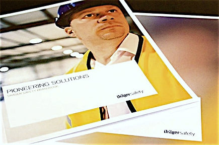 Freier Top Texter Co-Konzeption Texte Dräger safety Brandbook