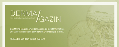 Freier Top Texter Kreativer Website & Produkt-Name DERMA/GAZIN