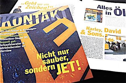 Freier Top Texter Texte Tankstellen-Pächter Magazin JET KONTAKT
