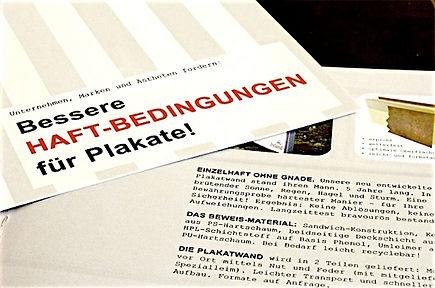 Freier Top Texter Konzept Text Produkt-Prospekt Neue Plakatwand Technologie