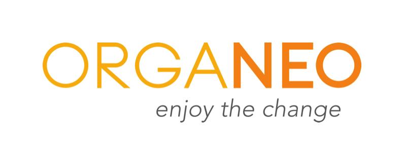 ORGANEO Firmenname entwickelt von Volker Neumann www.gaehnfrei.de