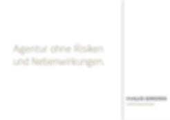 Freier Top Texter Texte Headlines Agentur-Broschüre Haus Gross
