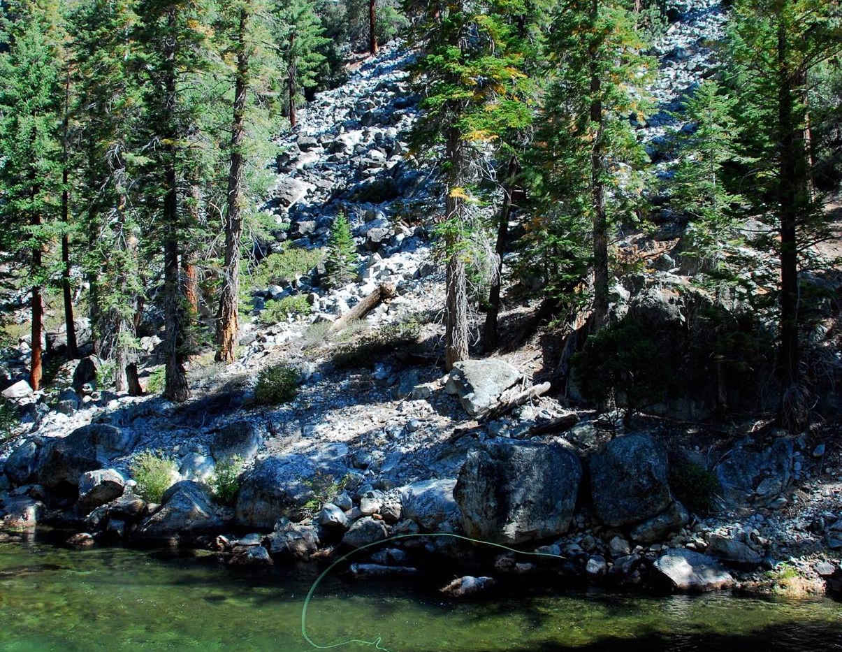 FIshing in the Golden Trout Wilderness