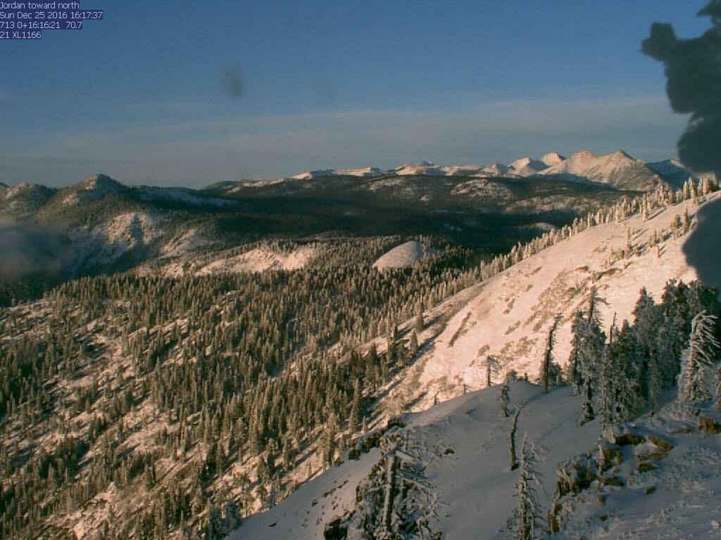 Jordan Peak Webcam Shot