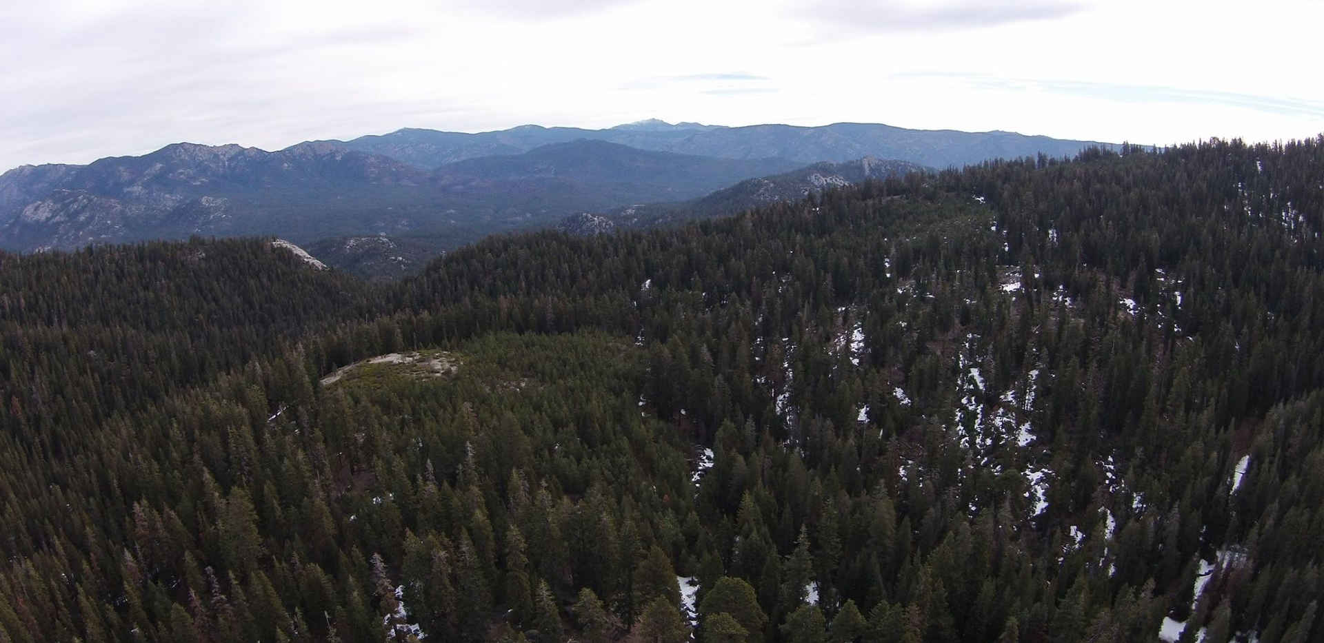 View of the Golden Trout Wilderness