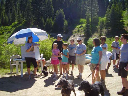 Sequoia Crest Triathlon - Start of Prediction Walk