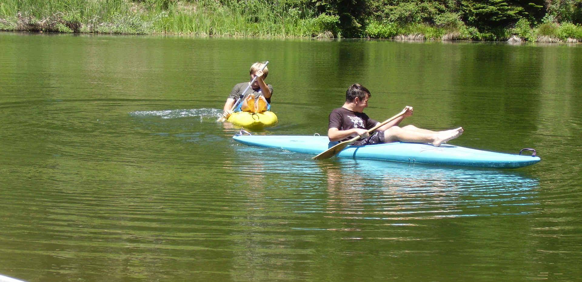 Poppy Lake - Kayaking