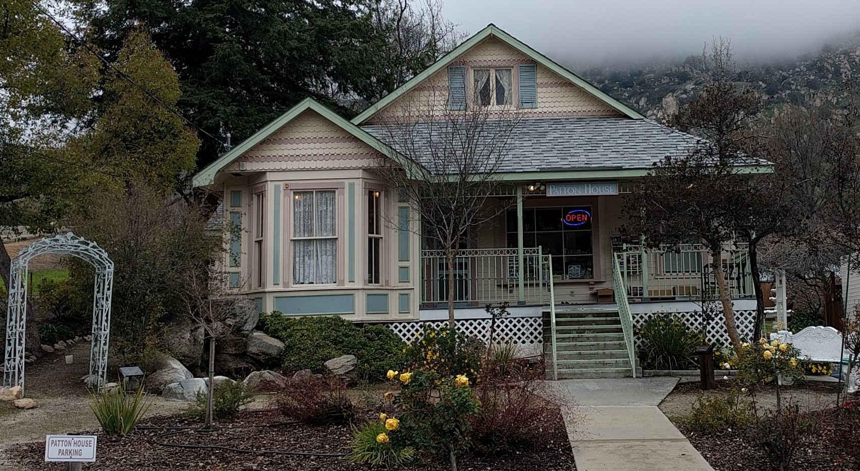 Patton House in Springville
