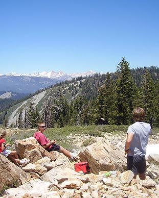 Top of Jordan Peak