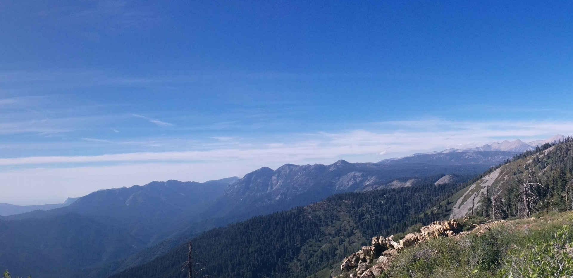 Jordan Peak Lookout View Right