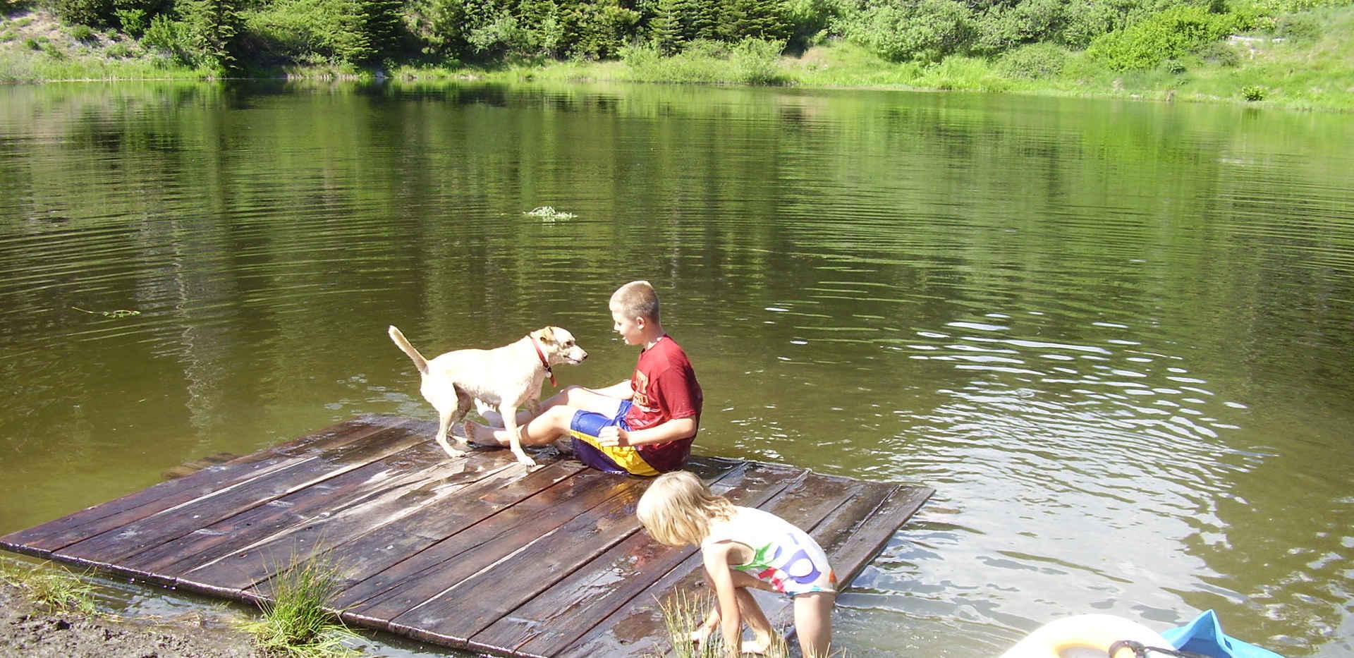 Poppy Lake - Raft