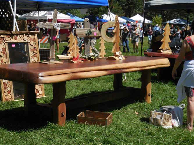 Redwood Goods for Sale at the Camp Nelson Mountain Festival