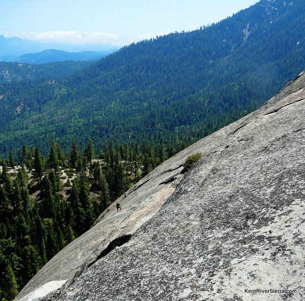 Dome Rock is Popular with Experienced Climbers