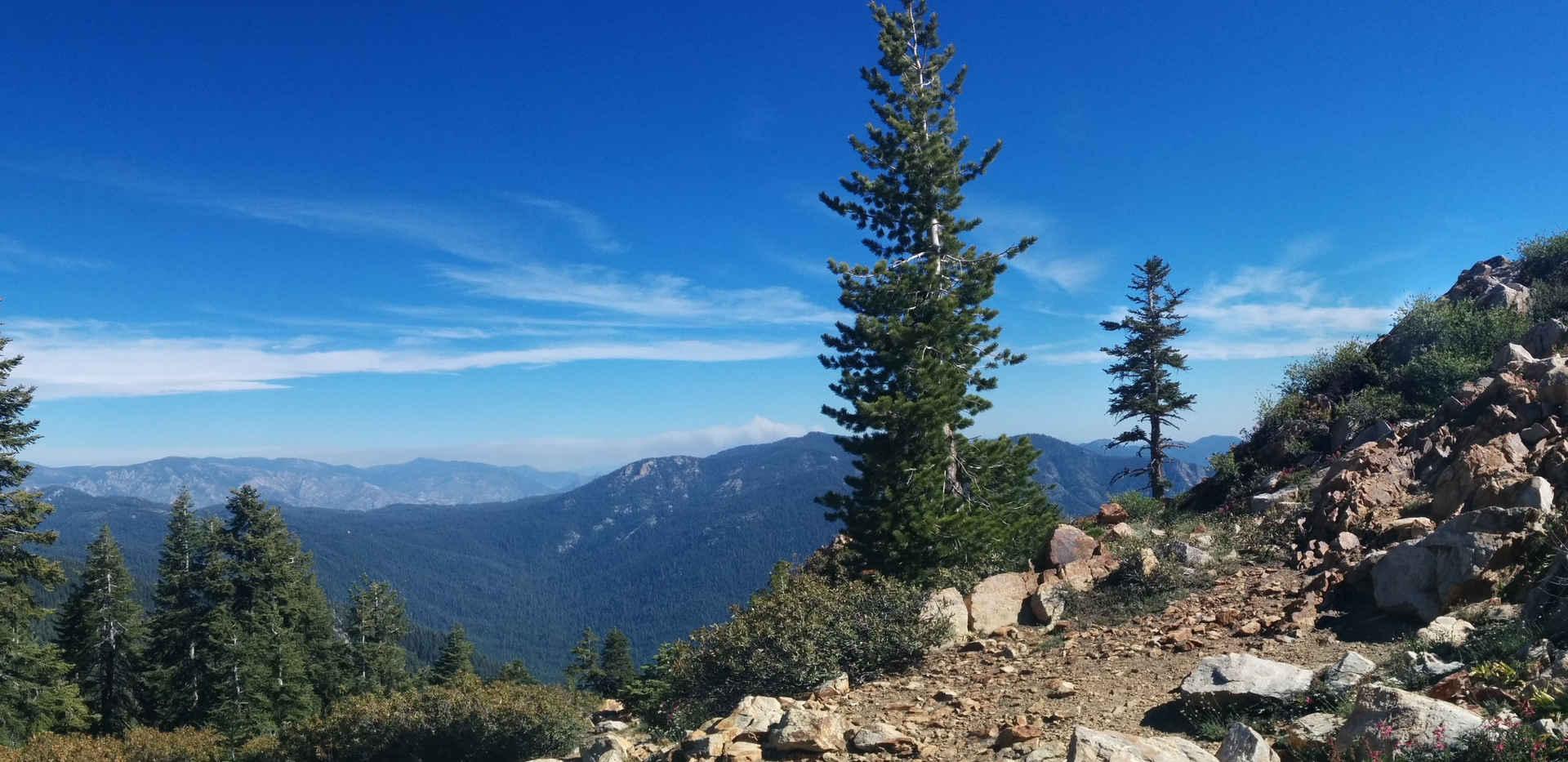 View from Jordan Peak Trail