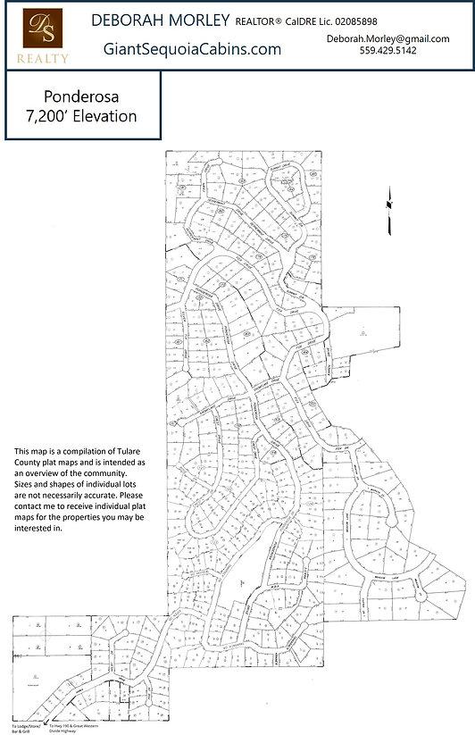 Ponderosa Community Map
