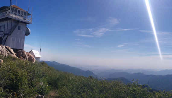 Jordan Peak Lookout View Left