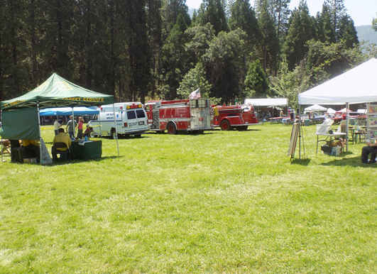 Mountain Festival at the Camp Nelson Meadow