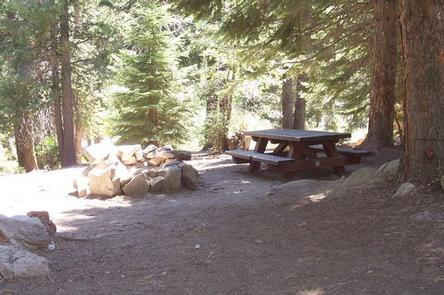 Redwood Meadow Campground Site