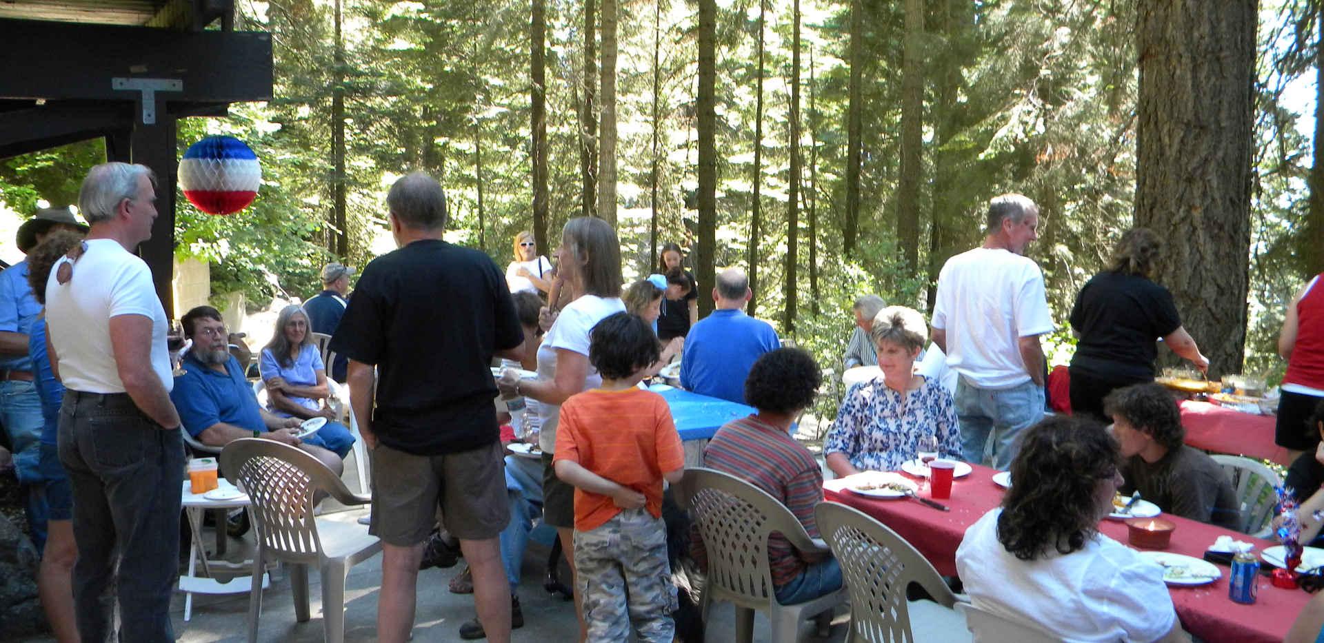 Sequoia Crest Triathlon - BBQ