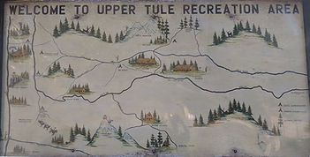 Map of Upper Tulare Area