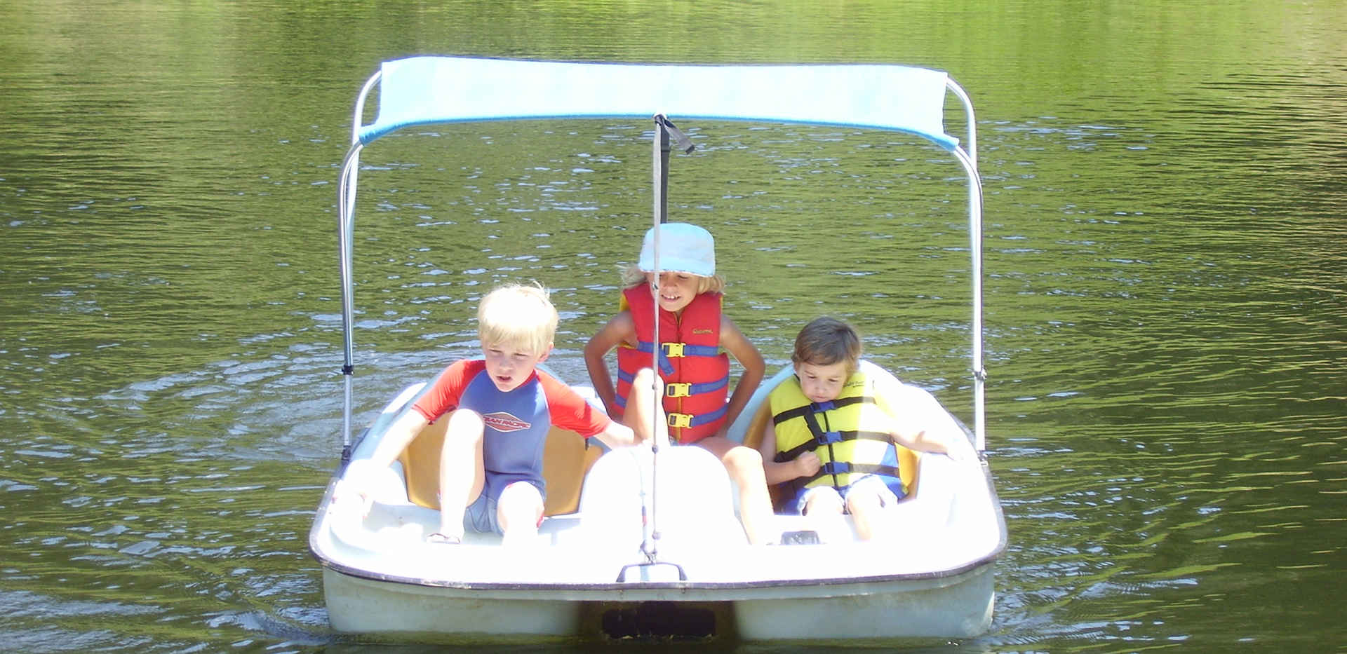 Poppy Lake - Paddle Boats