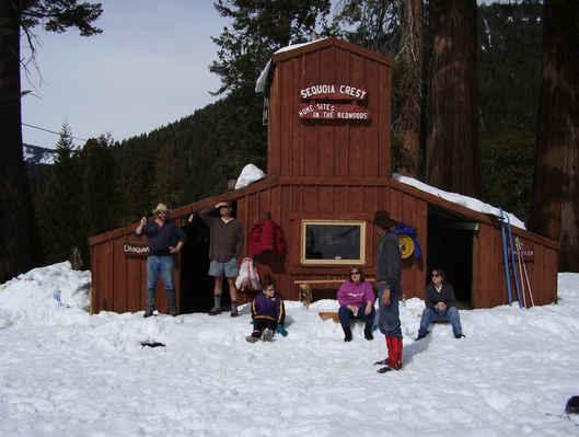 Sequoia Crest Ski Hill Hut