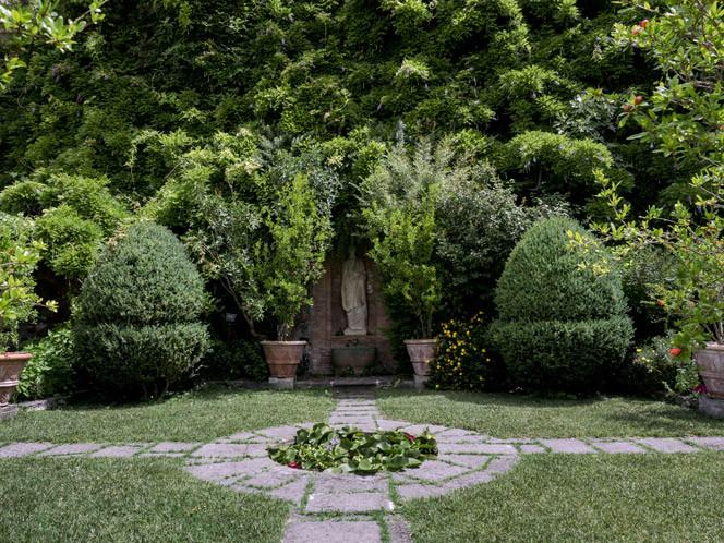 Il giardino di palazzo del Drago
