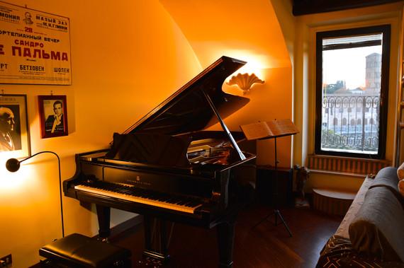Il pianoforte dell'Associazione