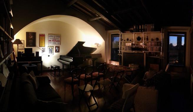 Il salone degli house-concert
