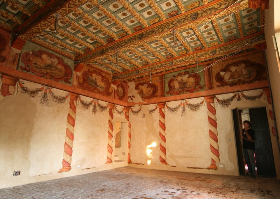 I soffitti del Palazzo
