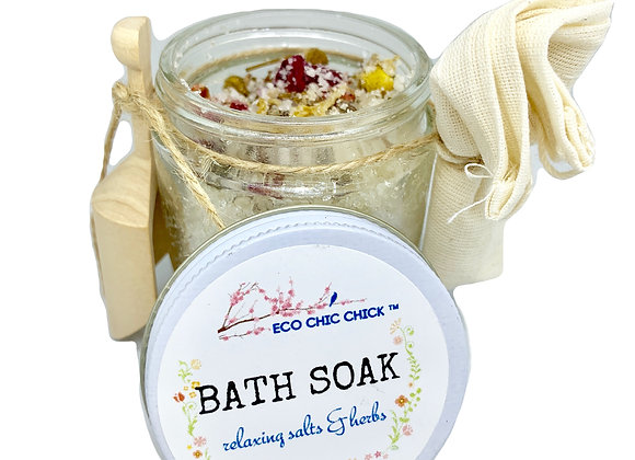 BATH SOAK | Relaxing Salts & Herbs | 3.5 oz.