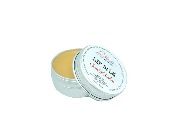 Organic LIP BALM | Cherry - Chocolate | 0.5 oz.