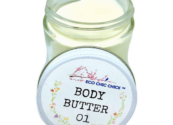 COCOA & BERGAMOT BODY BUTTER | for soft & glowing skin | 3.3 oz.